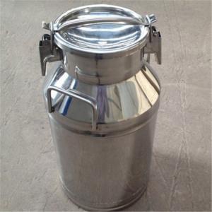 China Sealing Lids Stainless Steel Milk Bucket Liquid Storage Transportation wholesale