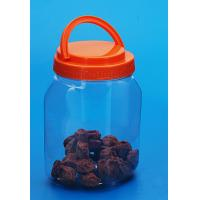 China Empty Round Plastic Storage Containers With Colorful Cover PB - 380 on sale