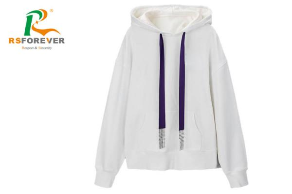 Quality Anti - Pilling Custom Thick Fleece Hoodies For Men And Women In Autumn And Winter for sale