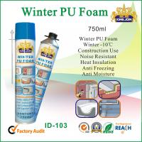 China Heat Resistant Pu Foam Spray Glue For Construction , Soundproofing Gap Filling on sale