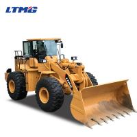 China 6 Ton Wheel Loader Heavy Equipment loader With AC And Joystick wholesale