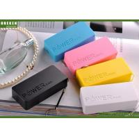 China Perfume - L Portable Cell Phone Battery , 4400mAh / 5200mAh Power Bank Lithium Polymer wholesale