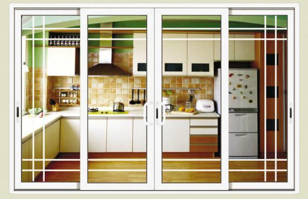 Interior shutters for sliding glass doors - Aluminum Sliding Glass Doors For Living Room With Grilles Shutters