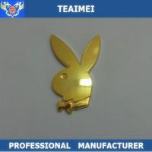 China 3D Chrome Custom Car Emblems Car Body Sticker Label Decoration wholesale