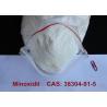 China Poudre pharmaceutique de Minoxidil Alopexil pour la croissance de cheveux/le traitement CAS 38304-91-5 tension artérielle wholesale