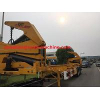 China XCMG NEW Q345 Material Side Lifter 3 Axles Semi Trailer Truck Lift / Carry 20ft 40ft Container wholesale