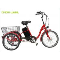 China 36V 350W Electric Mobility Scooter ,Tricycle Cargo Electric Bike Pedal Assist wholesale