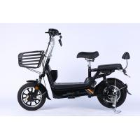 China OEM 350 Watt 48v Black Electric Dirt Bike With CE Passed And 14 Inch Wheel wholesale
