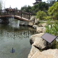 China Brushless solar water fountain pump wholesale