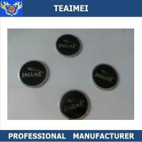 China Adhesive Decorative 55mm ABS Wheel Center Cap Stickers For Jaguar wholesale