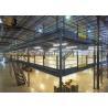 China Epoxy Powder Coated Factory Mezzanine Floors , Max 6000mm Upright wholesale