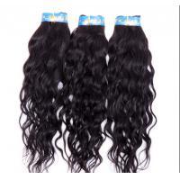 Natural Black Brazilian Curly Human Hair Extensions No Shedding No Damage