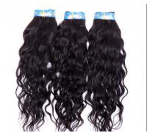 Buy cheap Prolongements bouclés brésiliens noirs naturels de cheveux aucun rejet d'aucun dommage from wholesalers