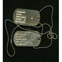 China Dogtag and Dogtag Necklace wholesale