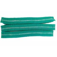 China 21 Inchs Medical Disposable Hair Caps , Disposable Surgical Caps With Double Stitch on sale