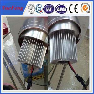China round shape aluminium extrusion heat sink /aluminium radiator for aluminium LED profile wholesale