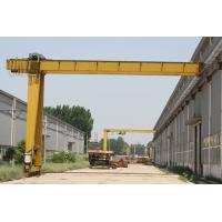 China 5t semi gantry crane hoist for outdoor and indoor with CE ISO certificates wholesale