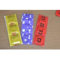 China Customized Lubricated Latex Condoms With Plain / Dotted / Ribbed Style on sale