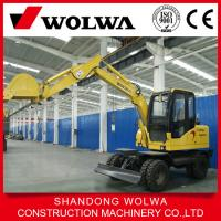China Made in China factory 6 ton wheel excavator for sale on sale