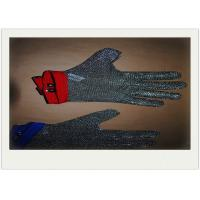 China Xs Size Stainless Steel Safety Gloves Square Chain Armor Cut - Resistant wholesale