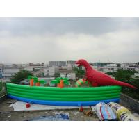 China Amazing Giant PVC Inflatable Water Parks for Outdoor Summer Water Games 30m Diameter wholesale