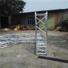 Multi - Shape Safe Aluminum Box Truss , Alloy 6082-T6 Screw Truss Tent System for sale