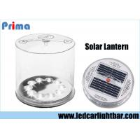 China Portable Rechargeable LED Camping Lights / Inflatable LED Solar Lantern wholesale