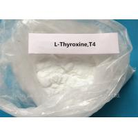 China Levothyroxine Steroid White Powder L-Thyroxine T4 for Fat Loss CAS 51-48-9 wholesale