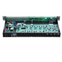 China 7ms Delay PA Sound Equipment / Digital Processor 4 Input 8 Output wholesale