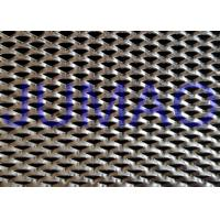 China Shopping Hall Stainless Steel Expanded Metal Triangle Holes Security Mesh wholesale