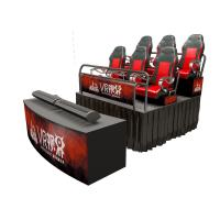 China Special Effects 7D 8D 9D 12D Cinema Theater / 5D Cinema Motion Chair wholesale