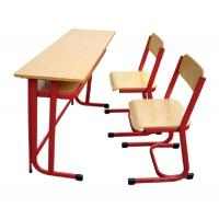China Durable Modern School Furniture - Desks / Chairs For Classroom With Ergonomically Designed wholesale