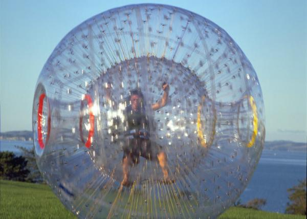 Quality Kids / Adults Human Bubble Ball , Giant Hamster Ball Environmental Friendly for sale