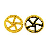 China H13 Two Color Multi Material Injection Molding POM Toy Car Wheels 1*2 Cavity wholesale
