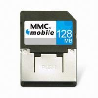 China MMC Card with 1.8 and 3.3V Dual Voltage and 7Mbps Reading Speed, For Mobile Phone/PDA/Digital Camera on sale