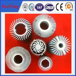 China aluminium radiator profile manufacturer/ aluminium alloy 6063t5 extrusion radiator profile wholesale