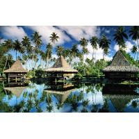 Prefab Prefabricated Bali Bungalow , Overwater Bungalows For Resort Maldives