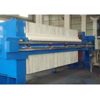 China Program Controlled Auto1500 Membrane Filter Press with Cloth Wash System And Drip Tray on sale
