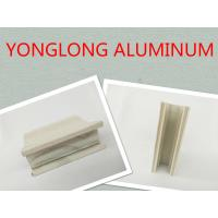 China Wooden Grain Aluminum Window Profiles Strong Three Dimensional Effect wholesale