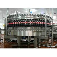 Soft Drink / Soda Water Carbonated Drink Production Line Stainless Steel