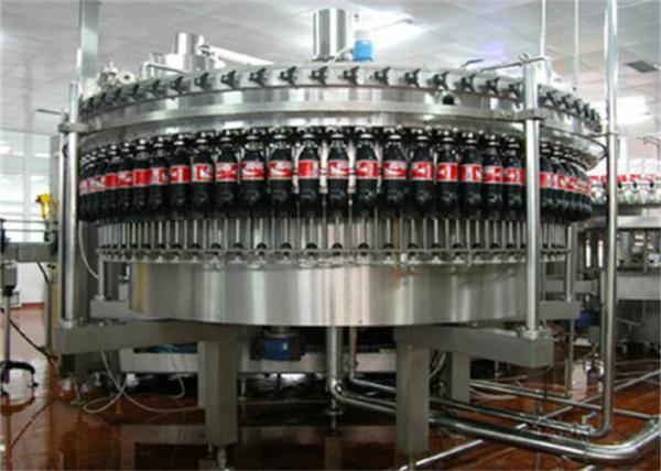 Quality Soft Drink / Soda Water Carbonated Drink Production Line Stainless Steel for sale