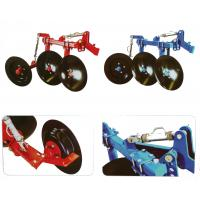China 1LS series agriculture equipment disc plough with 2pcs discs used for 12-18hp walking tractor wholesale