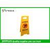 China O Portable de pouco peso nenhuns sinais do estacionamento, assoalho da dobradura assina os PP materiais wholesale
