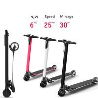 China carbon fiber super light weight fold electric scooter adult razor scooters wholesale