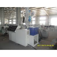 China Professional Plastic Pipe Extrusion Line For Cable Single Screw Or Twin Screw Extruder on sale