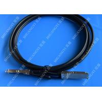 China 40Gb/s QSFP28 Direct-attach Copper Cable for Switch 2 Meter Black wholesale