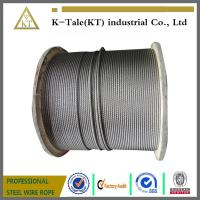 China 8x19S+hemp core or sisal core steel wire ropes for elevator wholesale