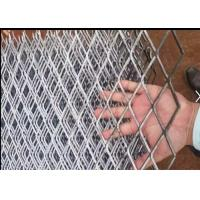 China Low Carbon Steel Expanded Metal Mesh for Stairs  2MM*50MM*50MM size wholesale