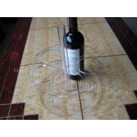 China Different Size Plastic Wine Bottle Holder Made Of Clear Acrylic wholesale