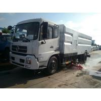 China Dongfeng 4X2 6m3 6cbm runway sweeper truck road sweeper truck with brushes foton sweeping truck on sale